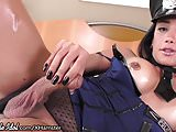 ShemaleIdol TS Cop Gets her Ass Fucked Raw