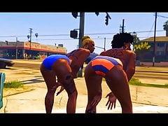 GTA V - Shaniqua in the Hood