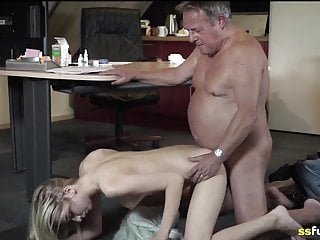 Deep Throat Cum Swallowing Cum In Mouth video: Fucked the secretary