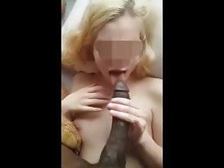 Petite Blonde Gets Long Black Dick