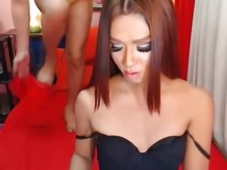 Two asian gorgeous fuck...