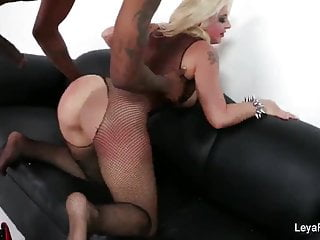 Leyas Interracial Anal