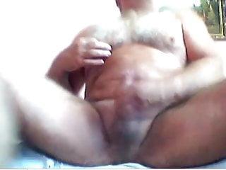 Bear huge cumshot...