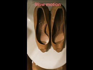 # Cum motion)! (with 33 my girlfriend shoes on slow