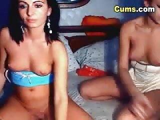 Lesbian Sluts Finger Fucking on Cam