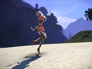 Whore on Quility Castanic  the High Tera: Dancing Beach