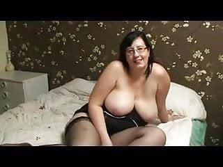 Gorgeous voluptuous Brit Jayne Storm interracial 3some
